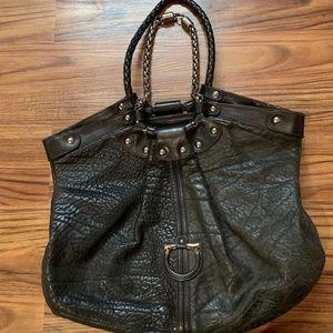 Salvatore Ferragamo Shoulder Bag (Black)